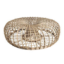 Nest Outdoor Large Footstool - Natural