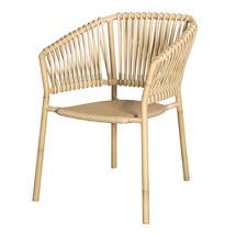 Ocean Outdoor Aluminum Chair - Natural