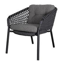 Ocean Outdoor Lounge Chair Cushion Set - Dark Grey