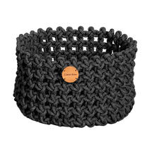 Cane-line Rope Basket Medium - Dark Grey