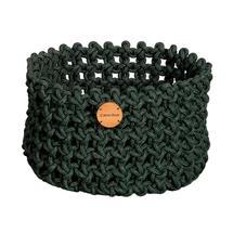 Cane-line Rope Basket Medium - Dark Green