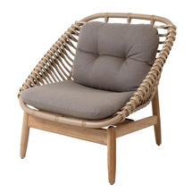 String Outdoor Lounge Chair with Cushions