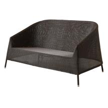Kingston Woven Lounge Sofa - Mocca