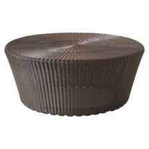 Kingston Woven Large Footstool - Mocca