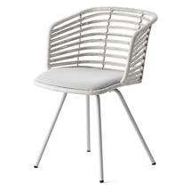 Spin Indoor Chair - White