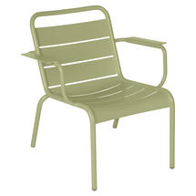 Luxembourg Lounge Armchair- Willow Green