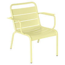 Luxembourg Lounge Armchair- Frosted Lemon