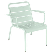Luxembourg Lounge Armchair- Ice Mint