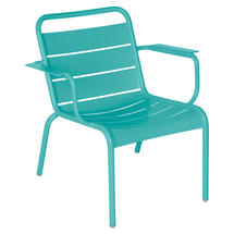 Luxembourg Lounge Armchair- Lagoon Blue