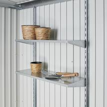 4x Shelves for Garden Sheds - 24.5cm - Medium