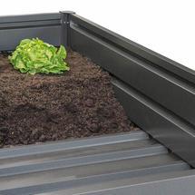 Intermediate floor Raised Vegetable Bed size 200m Square