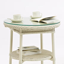 Avignon Side Table - Glass Top