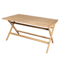 Flip Teak Folding Table - Large