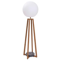 Luna Standard Outdoor Floor Lamp - Teak