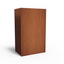 CorTen Panel Basic - 110cm wide x set of 5