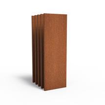 CorTen Panel Basic - 60cm wide x set of 5