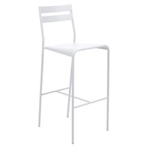 Facto Bar Chair - Cotton White