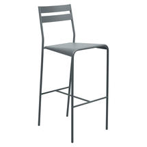 Facto Bar Chair - Storm Grey