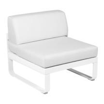 Bellevie 1 Seater Central Module - Cotton White/Off White