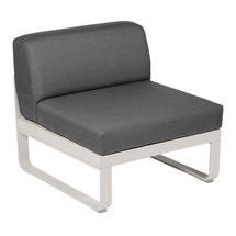 Bellevie 1 Seater Central Module - Clay Grey/Graphite Grey