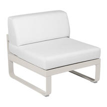 Bellevie 1 Seater Central Module - Clay Grey/Off White