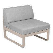 Bellevie 1 Seater Central Module - Nutmeg/Flannel Grey