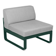 Bellevie 1 Seater Central Module - Cedar Green/Flannel Grey