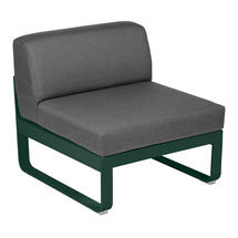 Bellevie 1 Seater Central Module - Cedar Green/Graphite Grey