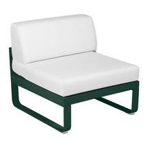 Bellevie 1 Seater Central Module - Cedar Green/Off White