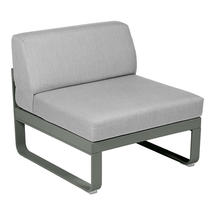 Bellevie 1 Seater Central Module - Rosemary/Flannel Grey