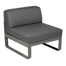 Bellevie 1 Seater Central Module - Rosemary/Graphite Grey