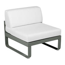 Bellevie 1 Seater Central Module - Rosemary/Off White