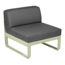 Bellevie 1 Seater Central Module - Willow Green/Graphite Grey