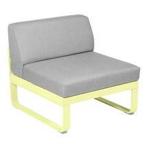 Bellevie 1 Seater Central Module - Frosted Lemon/Flannel Grey