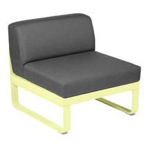 Bellevie 1 Seater Central Module - Frosted Lemon/Graphite Grey
