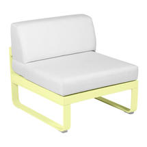 Bellevie 1 Seater Central Module - Frosted Lemon/Off White