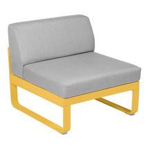 Bellevie 1 Seater Central Module - Honey/Flannel Grey
