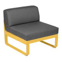 Bellevie 1 Seater Central Module - Honey/Graphite Grey