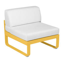 Bellevie 1 Seater Central Module - Honey/Off White