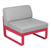 Bellevie 1 Seater Central Module - Pink Praline/Flannel Grey