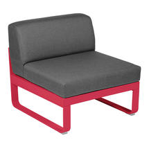 Bellevie 1 Seater Central Module - Pink Praline/Graphite Grey