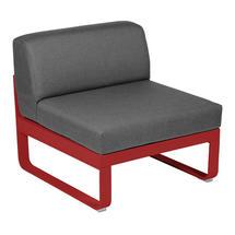 Bellevie 1 Seater Central Module - Poppy/Graphite Grey