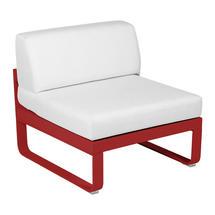 Bellevie 1 Seater Central Module - Poppy/Off White