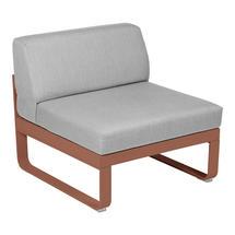 Bellevie 1 Seater Central Module - Red Ochre/Flannel Grey