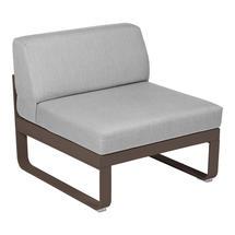 Bellevie 1 Seater Central Module - Russet/Flannel Grey