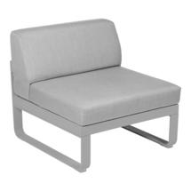 Bellevie 1 Seater Central Module - Steel Grey/Flannel Grey