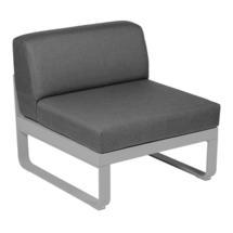 Bellevie 1 Seater Central Module - Steel Grey/Graphite Grey