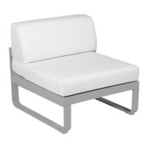 Bellevie 1 Seater Central Module - Steel Grey/Off White