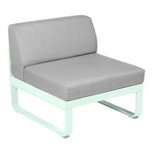 Bellevie 1 Seater Central Module - Ice Mint/Flannel Grey
