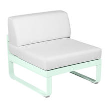 Bellevie 1 Seater Central Module - Ice Mint/Off White